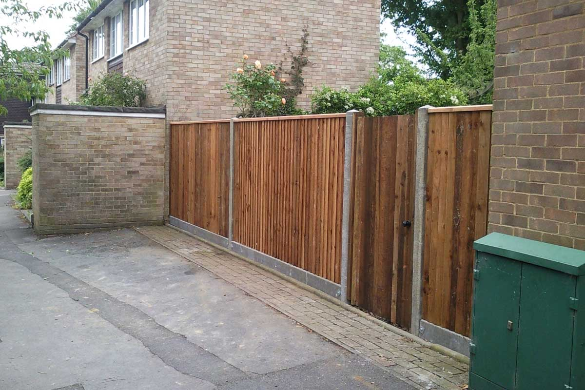 Concrete Posts Gravel Boards Bracknell 39 S Local Fencing